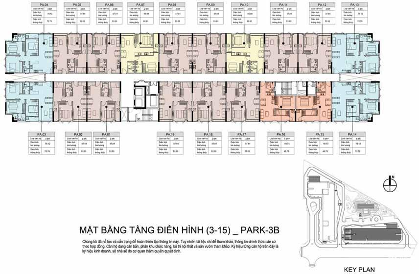 Park 3B tầng 3-15